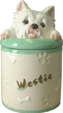 West Highland Terrier Cookie Jar
