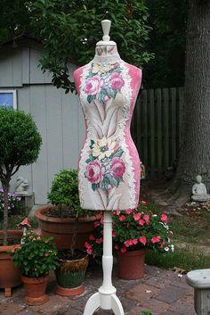 Beautiful dressform