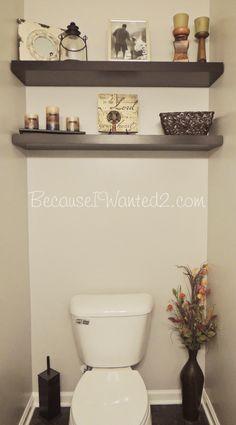bathrooms pinterest | Small Bathroom Decorating: Pinterest Ideas in Action