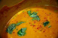 Thai Curried Pumpkin Soup