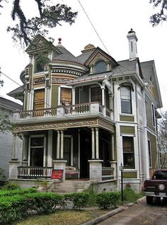 Queen Anne style victorian home in Mobile, Alabama