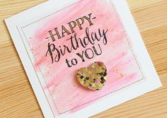 Stamping on a Gelato background - Card by Lisa Spangler
