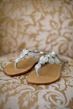 Wedding Sandals by Mystique