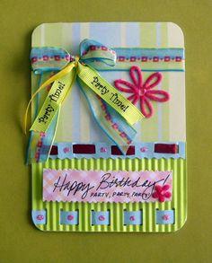 Cartão aniversario
