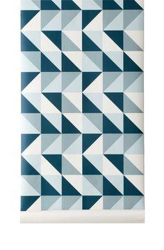 Ferm Living wallpaper   Remix
