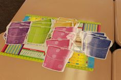 Bucket Filler Pockets and Printables with CTP's Buckets