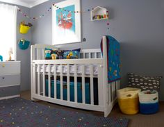 Modern and Whimsical Gray Nursery - Project Nursery