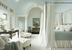 Most Beautiful Master Bedrooms | One of the most beautiful bedrooms I've posted. One of my favorite ...