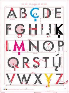 Pop Chart Lab --> Design + Data = Delight --> Alphabet of Typography