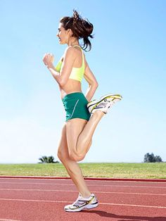4 drills runners should do 10 minutes pre-race