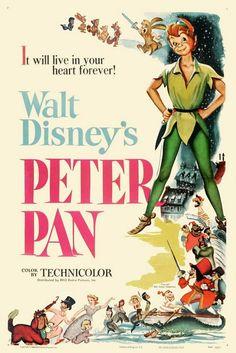 Peter Pan Poster (1953)