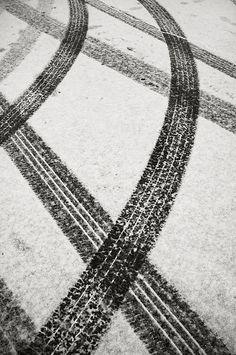 Tracks in Snow by frntprchprss