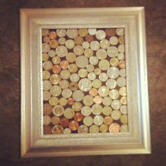 My version of what to do with my foreign coins collected whilst travelling #coins #travel