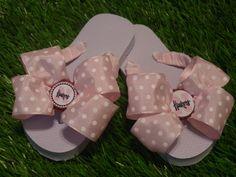 Pink HUSKERS Flip Flops  Child & Adult Sizes by 1YOUniqueboutique, $19.99