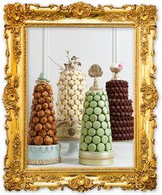 Multiple dessert tower :P !
