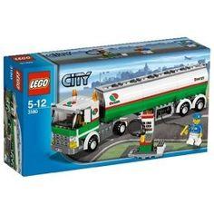 Lego City Tank Truck #3180, (lego, lego city)