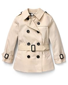 cute little girls, burberry, girl fashion, toddler girls, minis, babi girl, trench coats