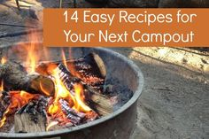 14 Easy Recipes for Your Next Campout - Campfire Chic