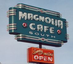 magnolia by Gary Martin Signs, via Flickr