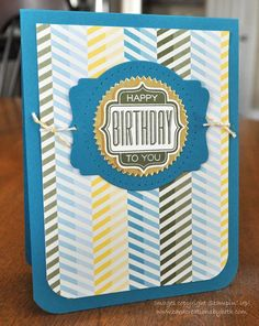 All Abloom Paper stack Masculine by cardcreationsbybeth