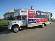 Buy a home, get a truck to move with!  See Joe Henry @ Coldwell Banker  www.agentjoehenry.com