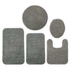 Room Essentials® Bath Rug - Manatee Gray
