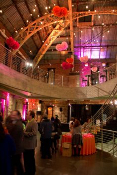 """Our main lobby during the Jewish Federation of Greater Portland's """"La Dolce Vita"""" event. Photos by Studio Gauthier"""