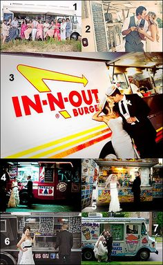 Instead of favor's or as a midnight snack have a food truck to serve your guests as they leave or continue on to a after party!