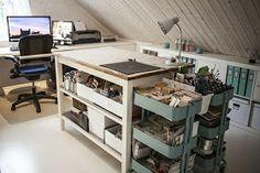 CRAFTY STORAGE: Marleene Craft Room