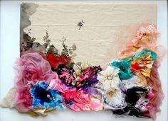 WOW....love this fabric art..
