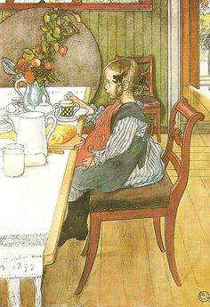 Carl Larson by Carl Larson, via Flickr