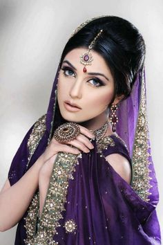 Fashion Stylists Khawar Riaz Bridal Makeover Photo Shoot 2012