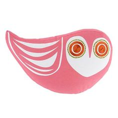 Happy Chic by Jonathan Adler Katie Owl Decorative Pillow #heart