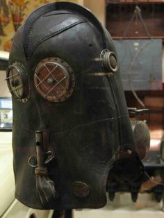 Victorian fireman's hood