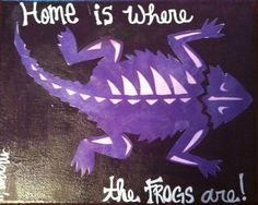 TCU! Home is where the Frogs are!