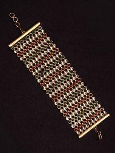 Multicolour Kundan Bracelet