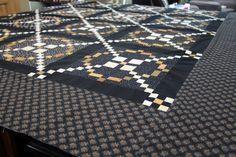 Lisa Bongean's  #APQquiltalong quilt is out of this world!. @Primitive Gatherings Quilt Shop
