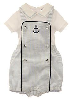 Kitestrings® Anchors Away Overall Set  www.belk.com  Sale $28.99  0-3 mos  3-6 mos  6-9 mos