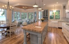 Coastal Kitchen Coastal Kitchen #Kitchen #Coastal.... Gorgeous!!