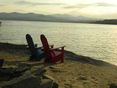 The Basin Harbor Club, on Lake Champlain, Vermont.