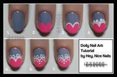 wall photo, doili, heart nails, nail art tutorials, fashion ideas, nail arts, riding boots, nail tutorials, blazers