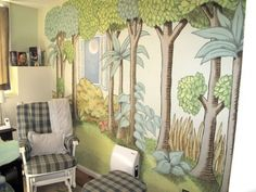 Where The Wild Things Are Nursery...would love this room for my little boy :]