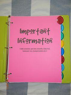 school, binder organization, teacher binder, student data, teacher organization, organized teacher, sub binder, organization ideas, seating charts