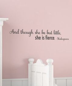 little girls, baby girl rooms, girl nurseries, daughters room, future babies, wall quotes, inspirational quotes, little girl rooms, babies rooms