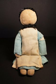 Amish doll in original cloths circa 1900