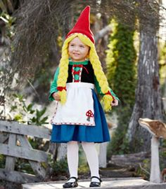 little gnome girl costume