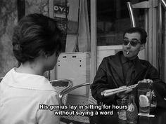 Jean-Luc Godard in Paris nous appartient, Jacques Rivette, 1961