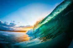 photography waves, glass, beauti, beach