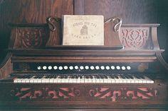 Old Pedal Organ.