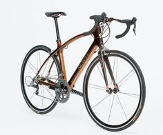 Beautiful laminated wood frame from Renovo Bicycles